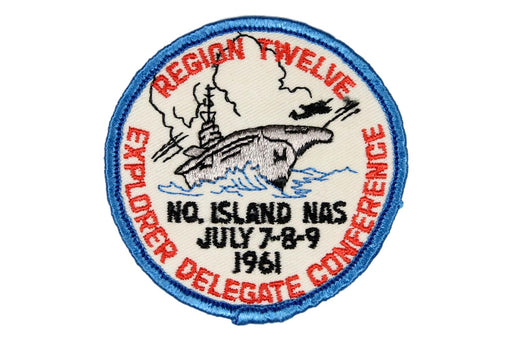 1961 Region Twelve Explorer Conference Patch