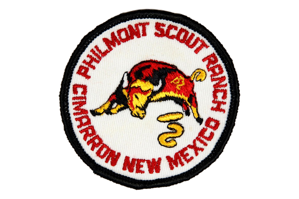 Philmont Scout Ranch Patch Gauze Back