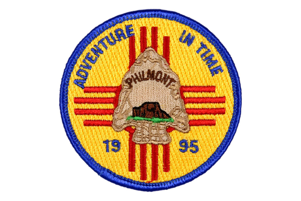1995 Philmont Adventure in Time Patch