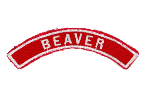 Beaver Red and White City Strip