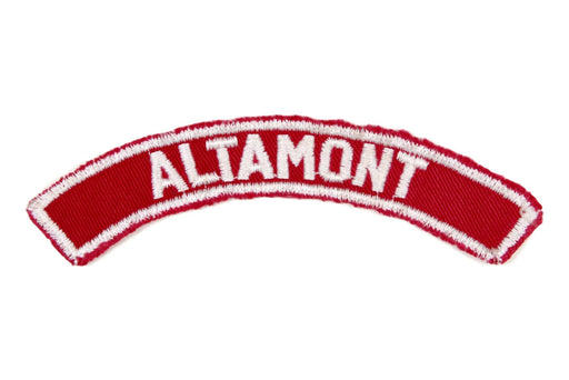 Altamont Red and White City Strip
