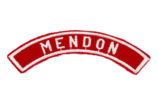 Mendon Red and White City Strip
