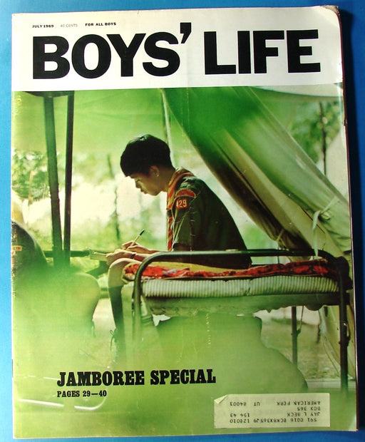 Boy's Life Magazine July 1969