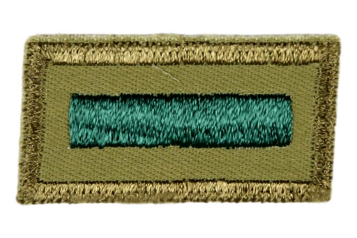 Assistant Patrol Leader Patch 1960s Smooth Twill Gum Back