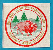 Buffalo Area Council Patch 1960