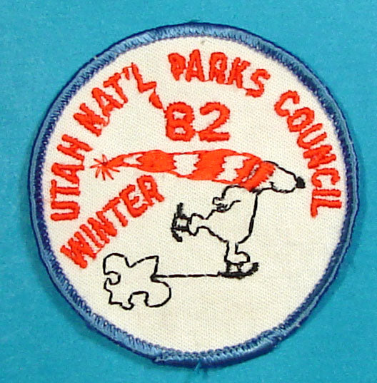 1982 Utah National Parks Winter Camp Patch
