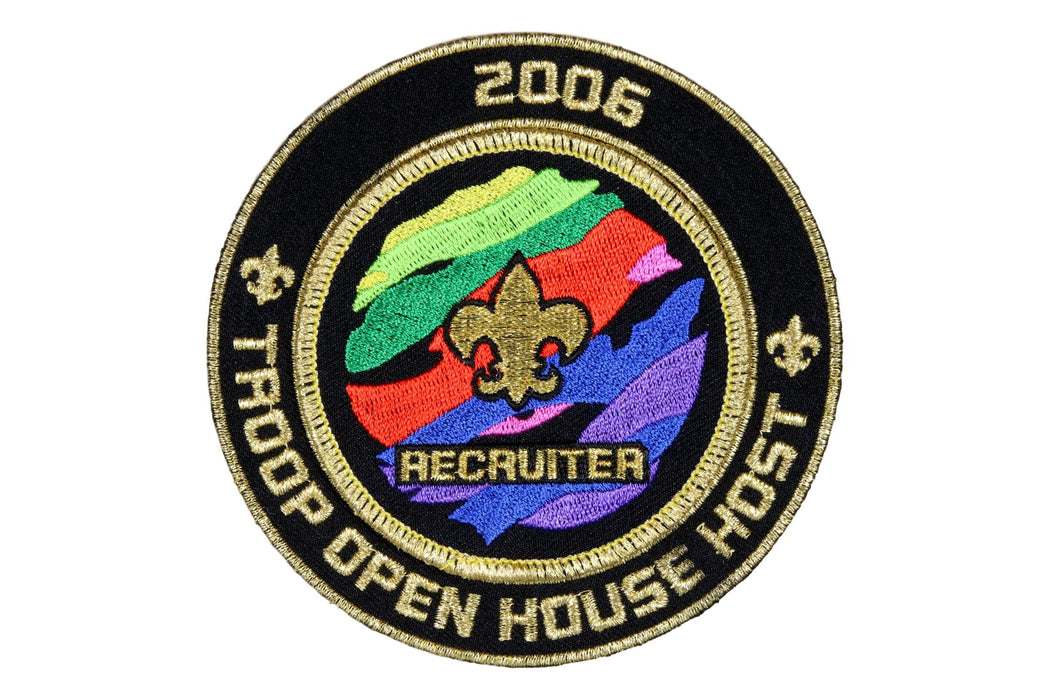 Recruiter Patch with 2006 Outer Ring