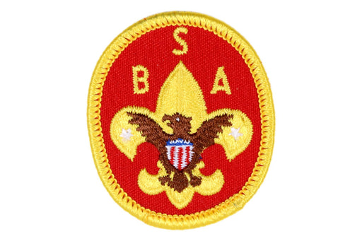 Jacket Pocket Patch Scout Red Clear Plastic Back