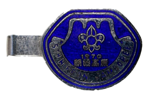 1970 5th Nippon Jamboree Tie Bar