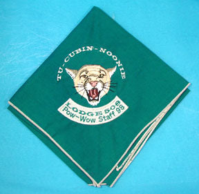 Lodge 508 Neckerchief 1998 Pow Wow Staff