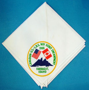 1966 LDS Canadian-US Encampment Neckerchief