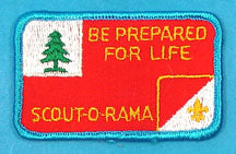 Scout O Rama Patch Be Prepared for Life
