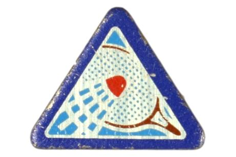 Badminton Sports Pin