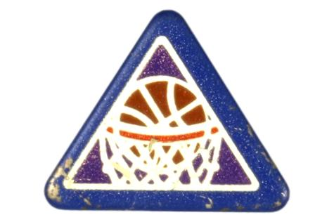 Basketball Sports Pin