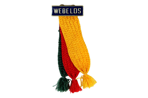Webelos Shoulder Ribbon Type 3 2000s-Current