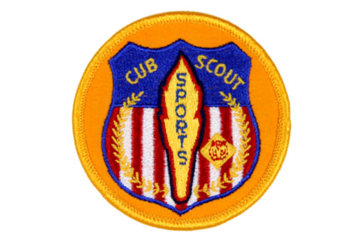 Cub Scout Sports Patch
