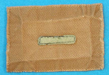 Assistant Patrol Leader Patch 1920s Tan Felt Bar