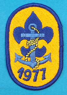 1977 Sea Scout Patch