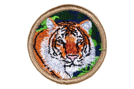 Tiger PM Fully Embroidered