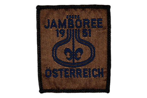 1951 WJ Patch Reproduction
