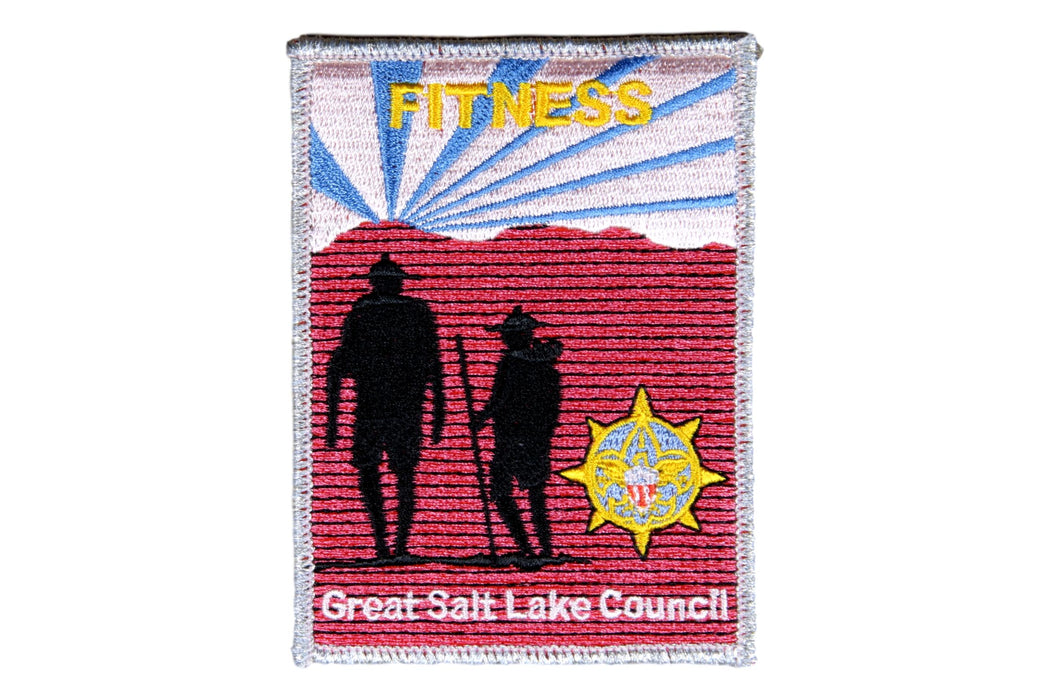 2002 Great Salt Lake Scout O Rama Patch Fitness