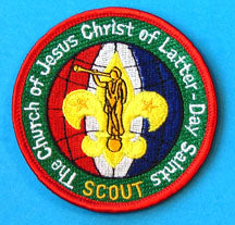 "LDS Scouting Patch ""Scout"""