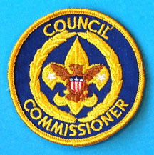 Council Commissioner Patch 1970