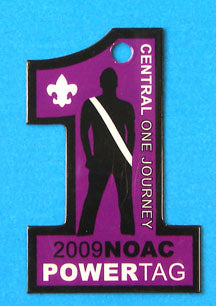 2009 NOAC PowerTag Purple