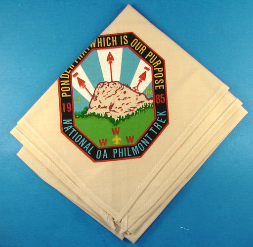 1985 Philmont National OA Trek Neckerchief