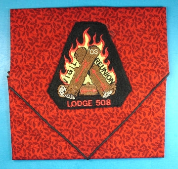 Lodge 508 Neckerchief 2003 Vigil Reunion