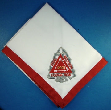 Lodge 508 Neckerchief 2001 Vigil Reunion
