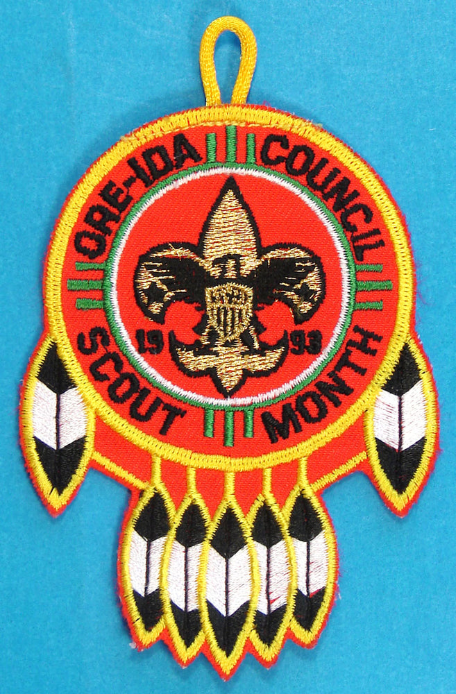 Ore-Ida Council Scout Month 1993 Patch