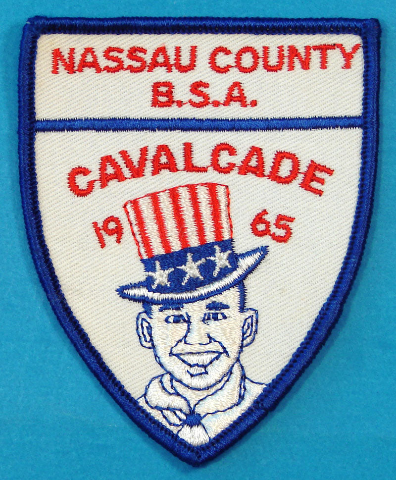 Nassua County Council 1965 Cavalcade Patch