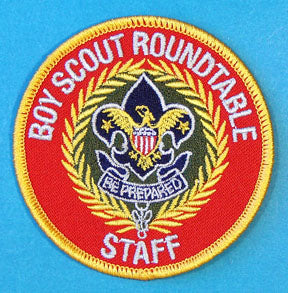Boy Scout Roundtable Staff Patch SSB