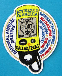 2010 National Meeting Patch