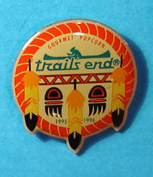 1995-96 Trail's End Popcorn Pin