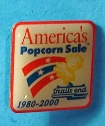 1980-2000 Trail's End Popcorn Pin