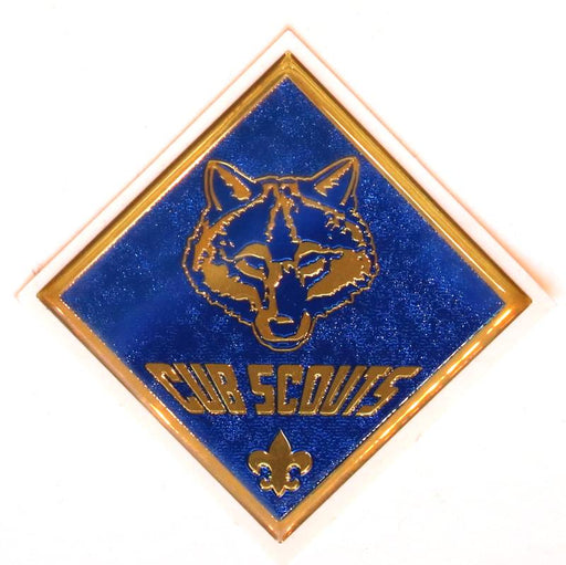 Cub Scouts Plastic Dome Sticker