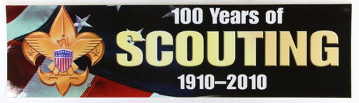 100th Anniversary of Scout Sticker