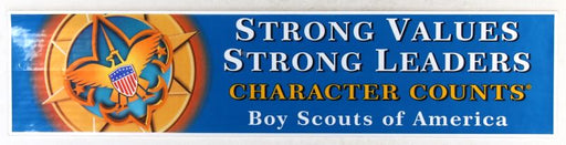 Character Counts Sticker