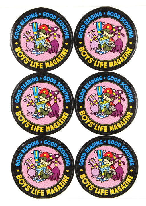 Boys' Life Stickers
