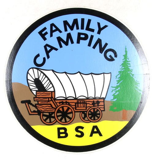 Family Camping Sticker 6""
