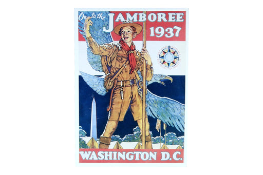 1937 National Jamboree Post Card