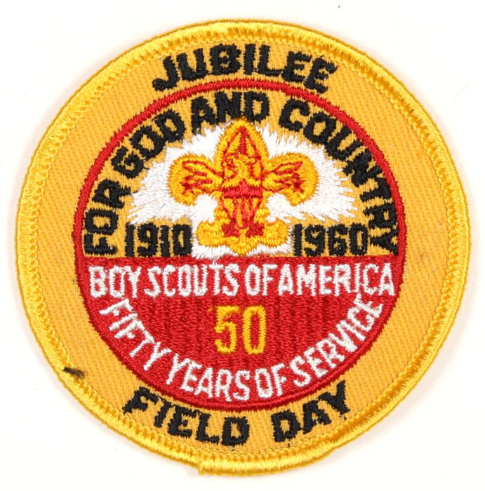 50th Anniversary Jubilee Field Day Patch