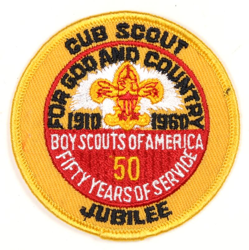 Cub Scout Jubilee Patch