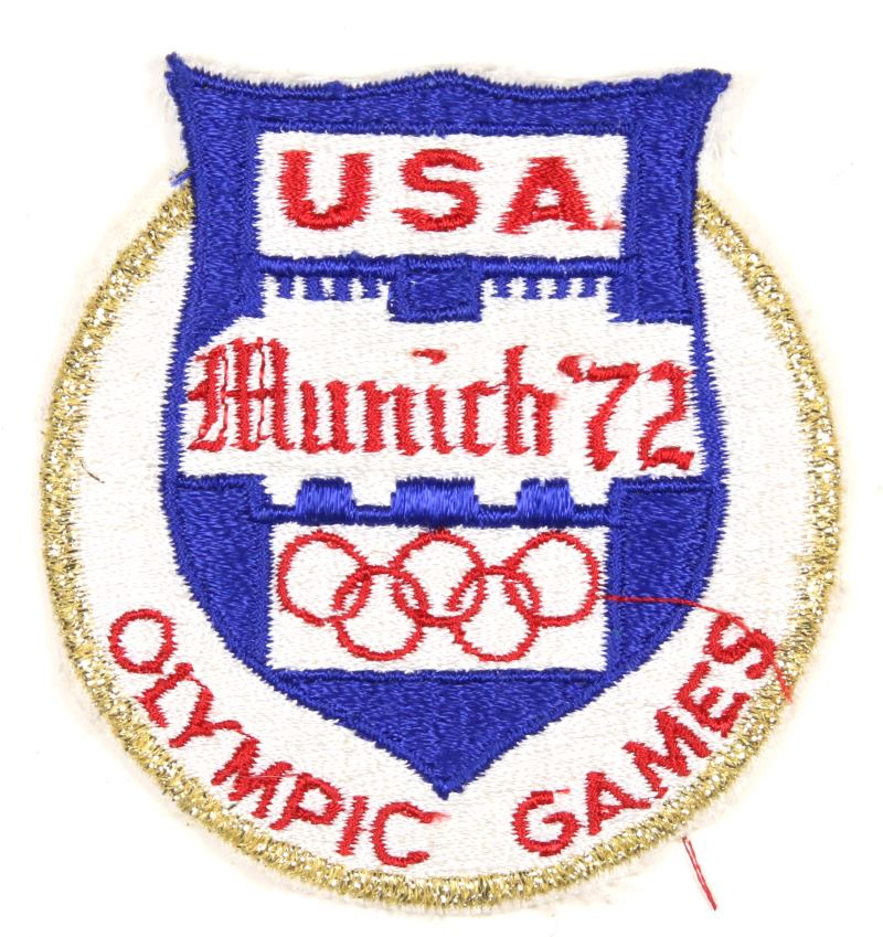 1972 Olympic Games USA Patch