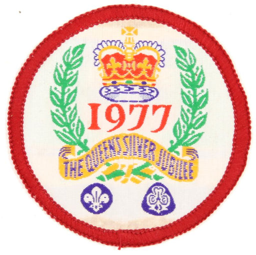 1977 Canadian Queen's Silver Jubilee Patch