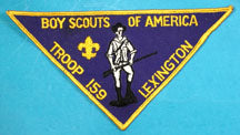 Lexington Troop 159 Patch