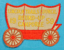 Lincoln Trails Council 1959 Round Up Camporee Patch