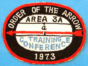 1973 Area 3 Conference Patch